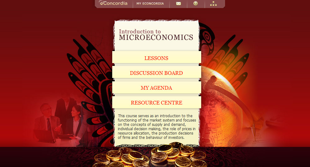 eConcordia - ECON 201 - Introduction to Microeconomics