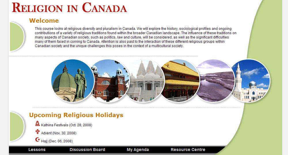eConcordia - RELI 375 - Religion in Canada